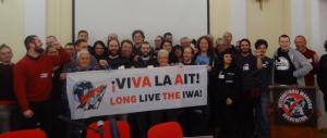 Kleines Gruppenfoto vom IAA-Kongress