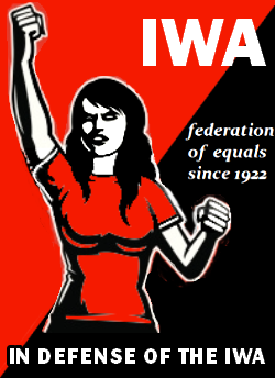 Zur Verteidigung der IAA - Föderation von Gleichen - seit 1922