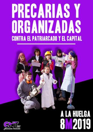 CNT-IAA Granada: Frauenstreik 08.03.2019