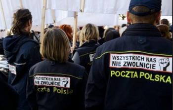 Solidarität mit polnischen Postler*innen