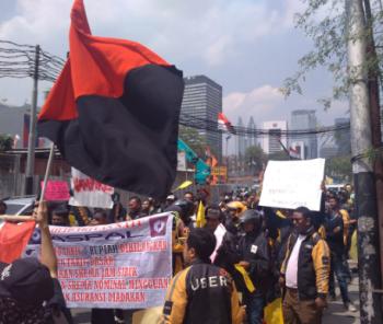 Arbeitskampf bei Uber Jakarta 2017