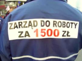 Forderung nach 1.000 Zloty Lohnerhöhung