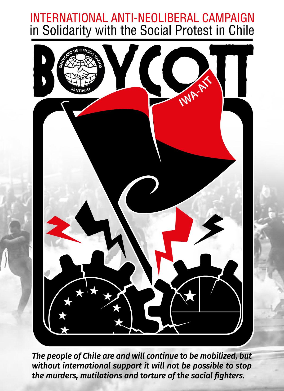 Boycott Chilean Products